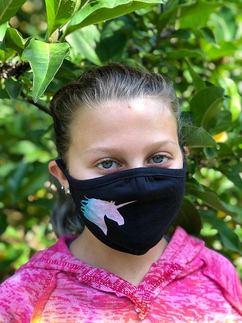 Unicorn Youth Face Mask