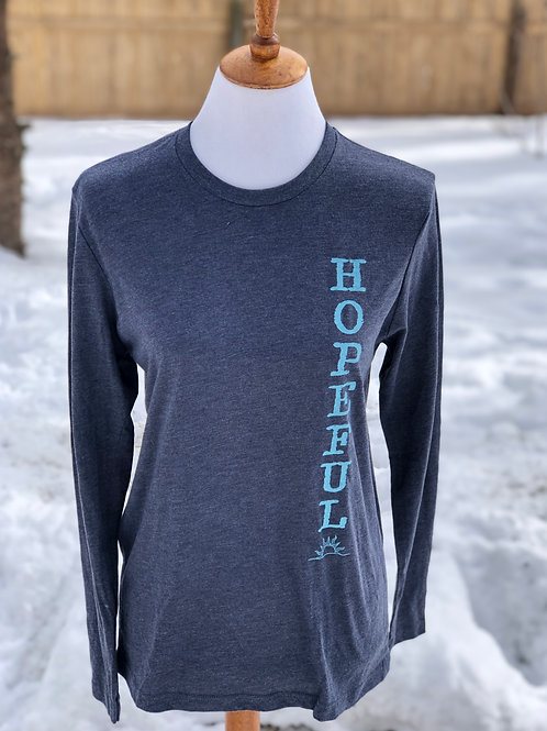 Unisex Hopeful Grateful Long Sleeve Tee - Wholesale