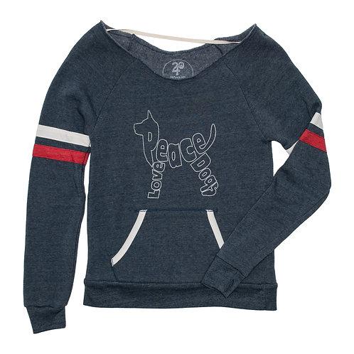 Women's Peace Love Dogs Lux Sweatshirt
