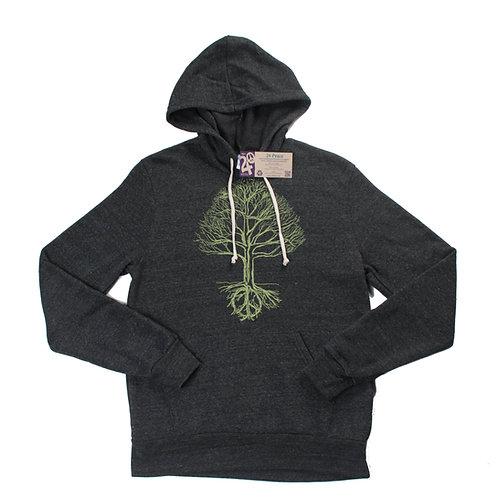 Unisex Peace Tree Fleece Hoodie - Wholesale