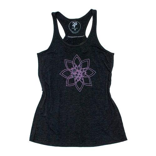 Women's Lotus Mandala Tank Top
