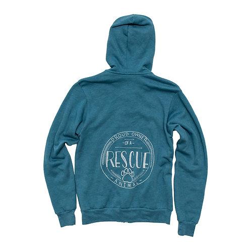 Unisex Rescue Owner Fleece Zip Hoodie - Wholesale