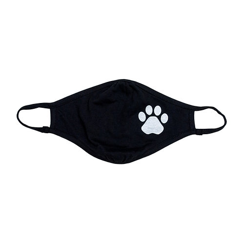 Paw Print Adult Face Mask