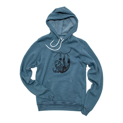 Unisex Sloth Fleece Hoodie - Wholesale