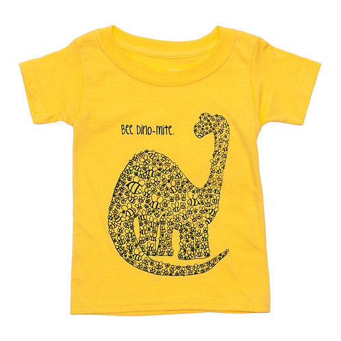 Bee Dino-mite Toddler Tee
