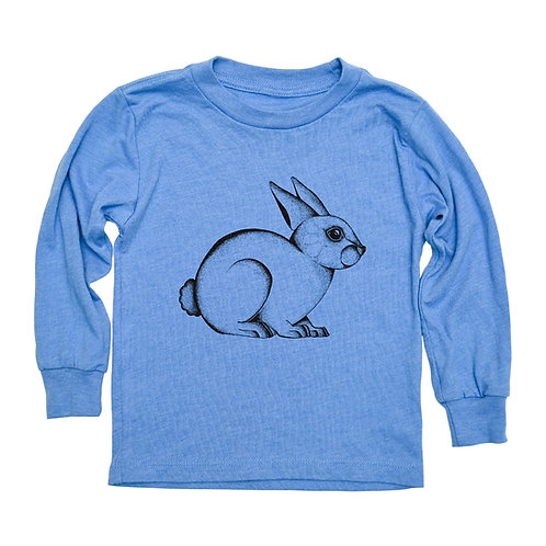 Bunny Toddler Long Sleeve Tee