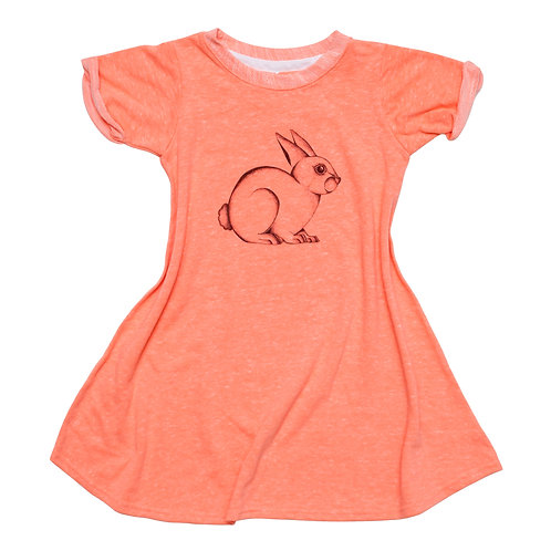 Girls Bunny Dress - Wholesale