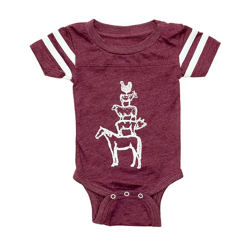 Barnyard Stack Crawler - Maroon - Wholesale