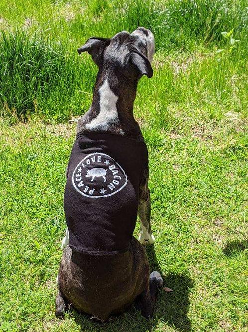Dog Peace Love Bacon Shirt