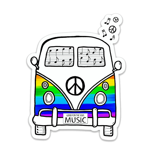 Music Bus Sticker