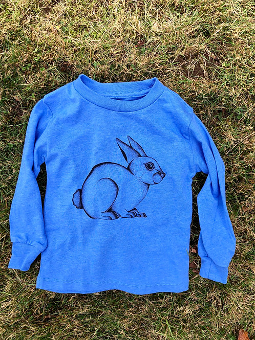 Bunny Toddler Long Sleeve Tee