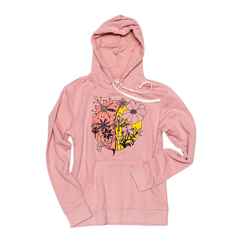 Women's Wildflowers Hoodie - Wholesale