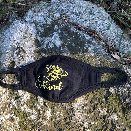 Bee Kind Youth Face Mask