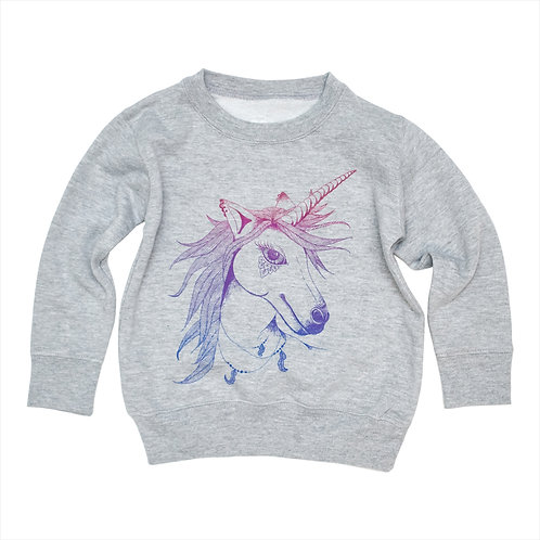 Unicorn Toddler Sweatshirt - Wholesale