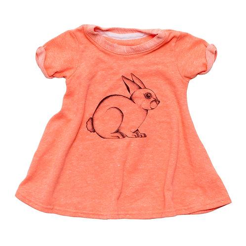 Bunny Toddler Dress
