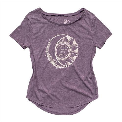 Women's Sun & Moon Tee - Wholesale