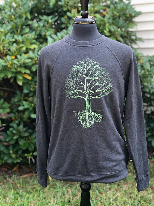 Unisex Peace Tree Fleece Sweatshirt