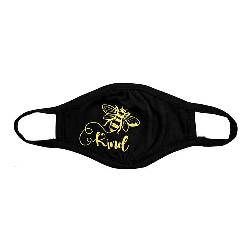 Bee Kind Adult Face Mask