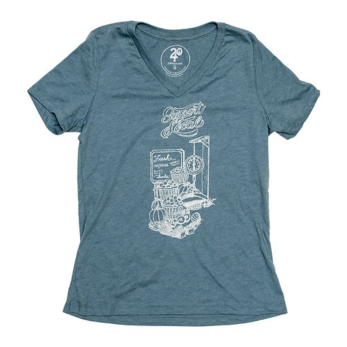 Women's Support Local Tee - Wholesale