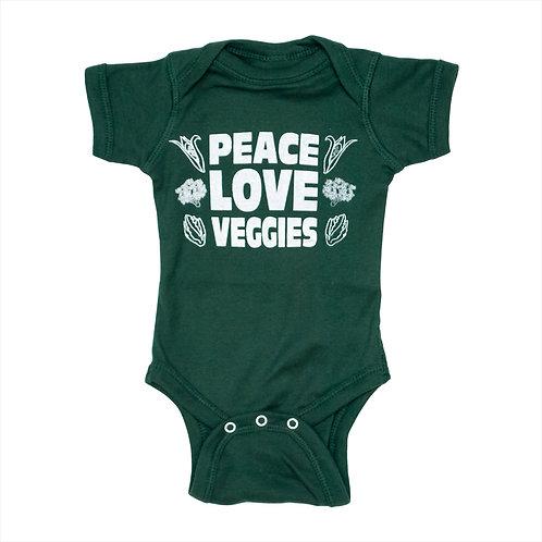 Peace Love Veggies Crawler - Wholesale