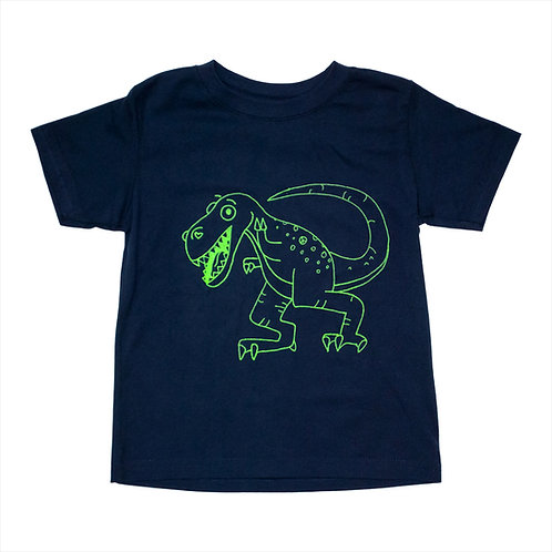 Toddler Green Dinosaur Tee - Wholesale