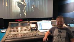 Maciej Zieliński at Dreamsound Studios