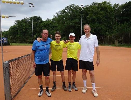 Doulis/Meyer mit Sieg im Doppel an den TCA-Clubmeisterschaften