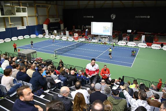 KEEPCOOL am 7. Tennis Forum Schweiz in Biel