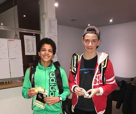 Arenui Lüthi (U14) an den Aarg. Junioren Meisterschaften eine Klasse für sich!