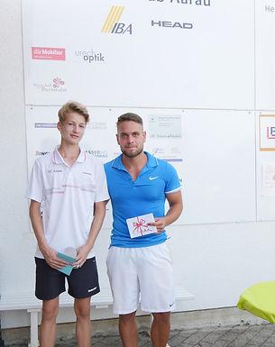 Marius Hümbelin ist TCA-Clubmeister 2017!