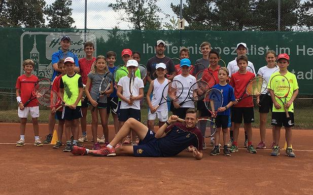 """Das Junioren Sommer-Camp mit """"coolen"""" Kids bei perfektem Wetter!"""