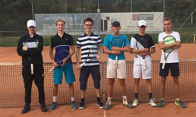 Die Boys U18 spielen in Winterthur um den CH-Meistertitel 2018 !!