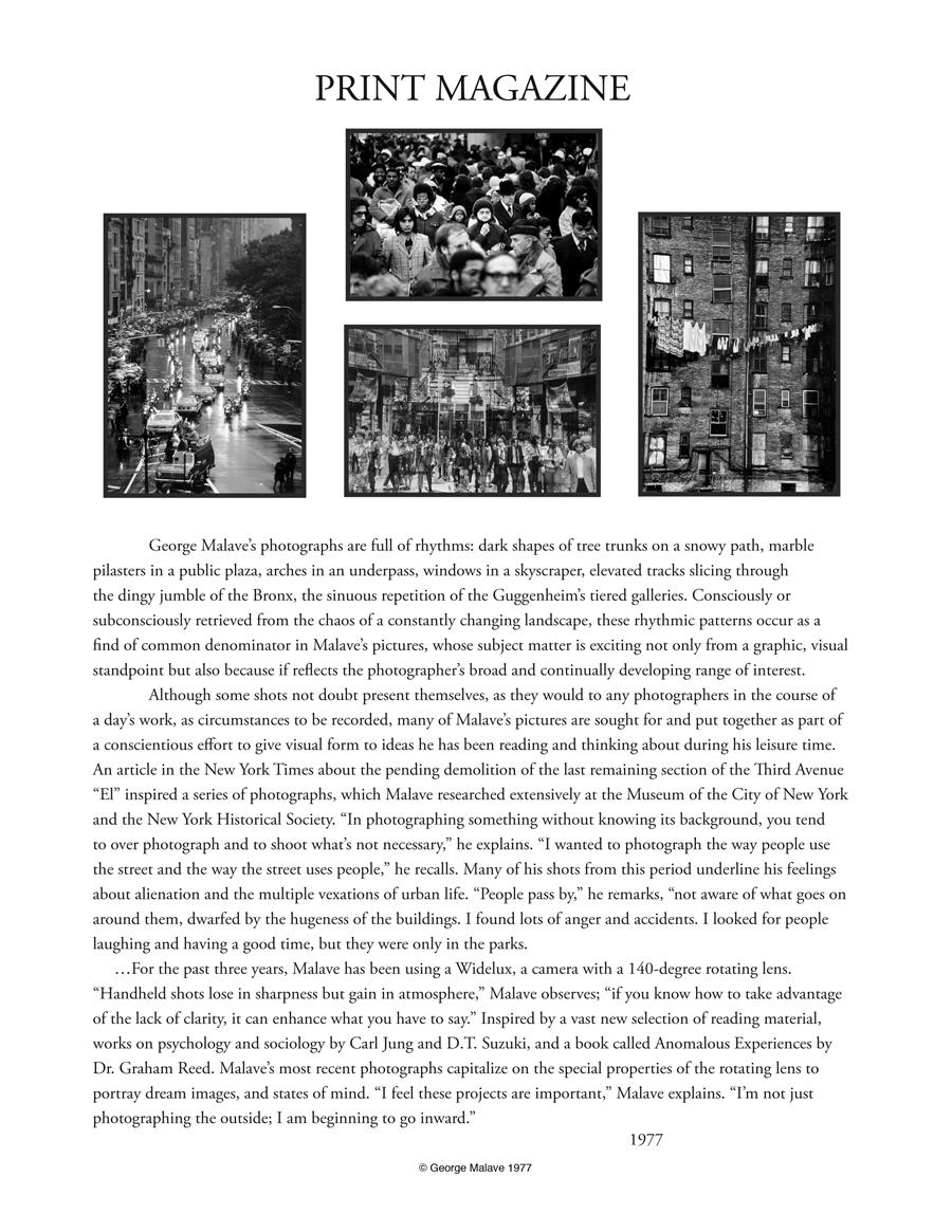 •Print Magazine