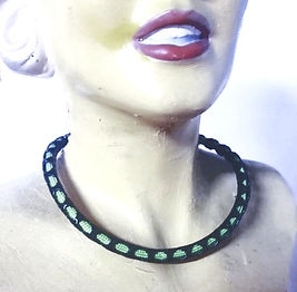 jewelry with leather