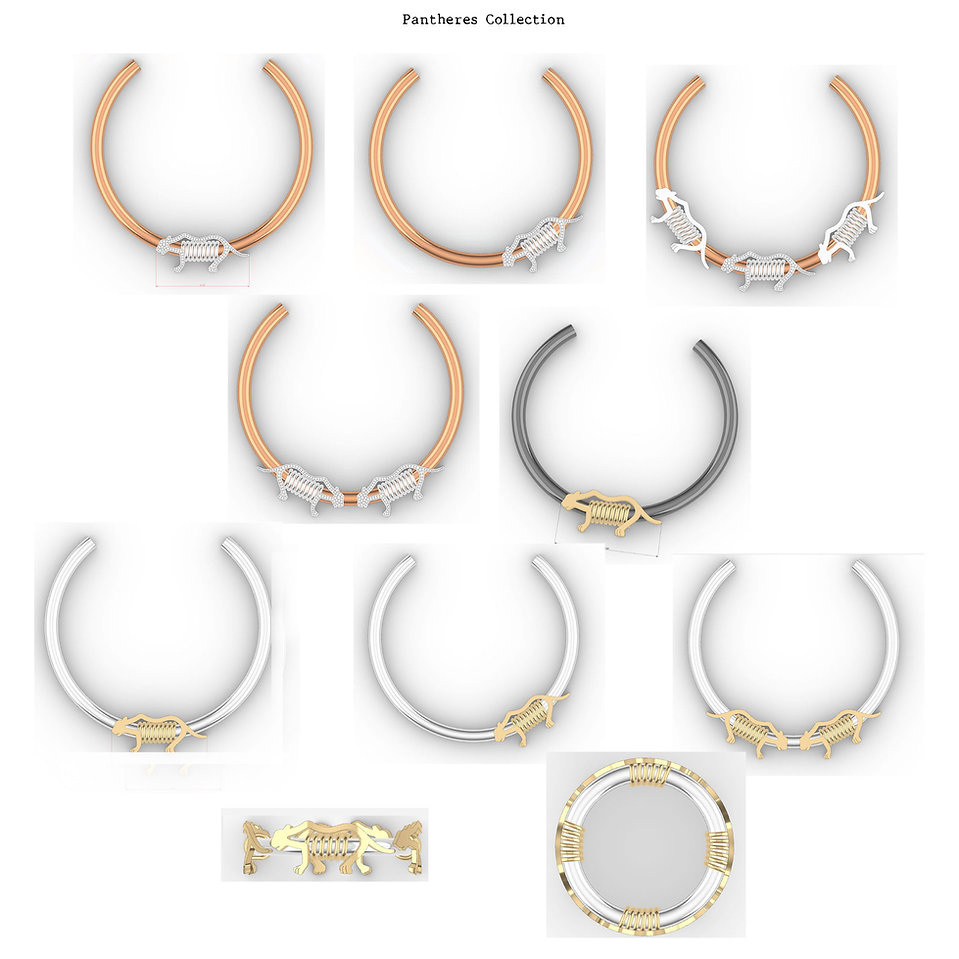 Cartier pantheres collection