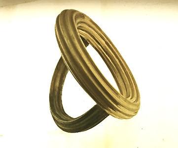 corrugated jewellery cuff