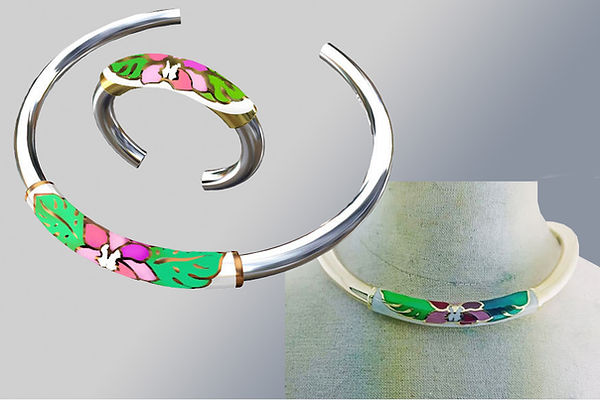 silver collar jewelry thailand