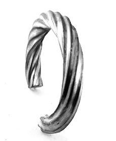 bijoux couture en argent massif bracelet
