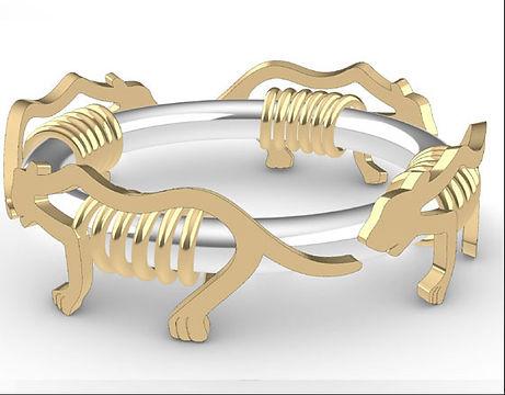 mode bracelet pantheres