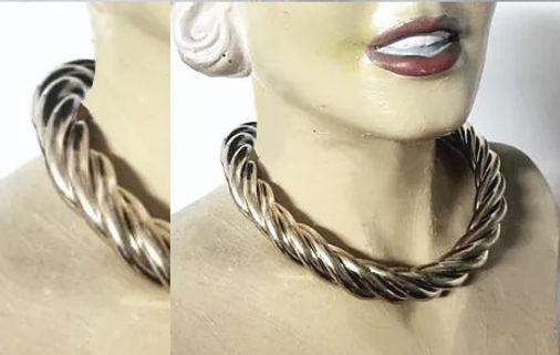 Goldsmith Jewelry collar necklace