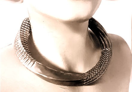 fluted collar jewelry jewellery