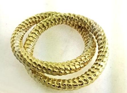 corrugated jewelry