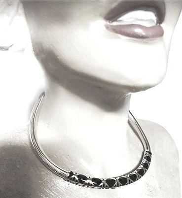sterling silver  enamel