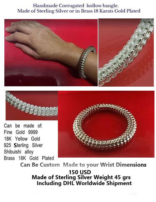 bracelet  fluted