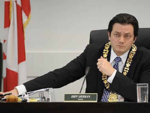 Mayor Jeff Lehman Of Barrie Ontario