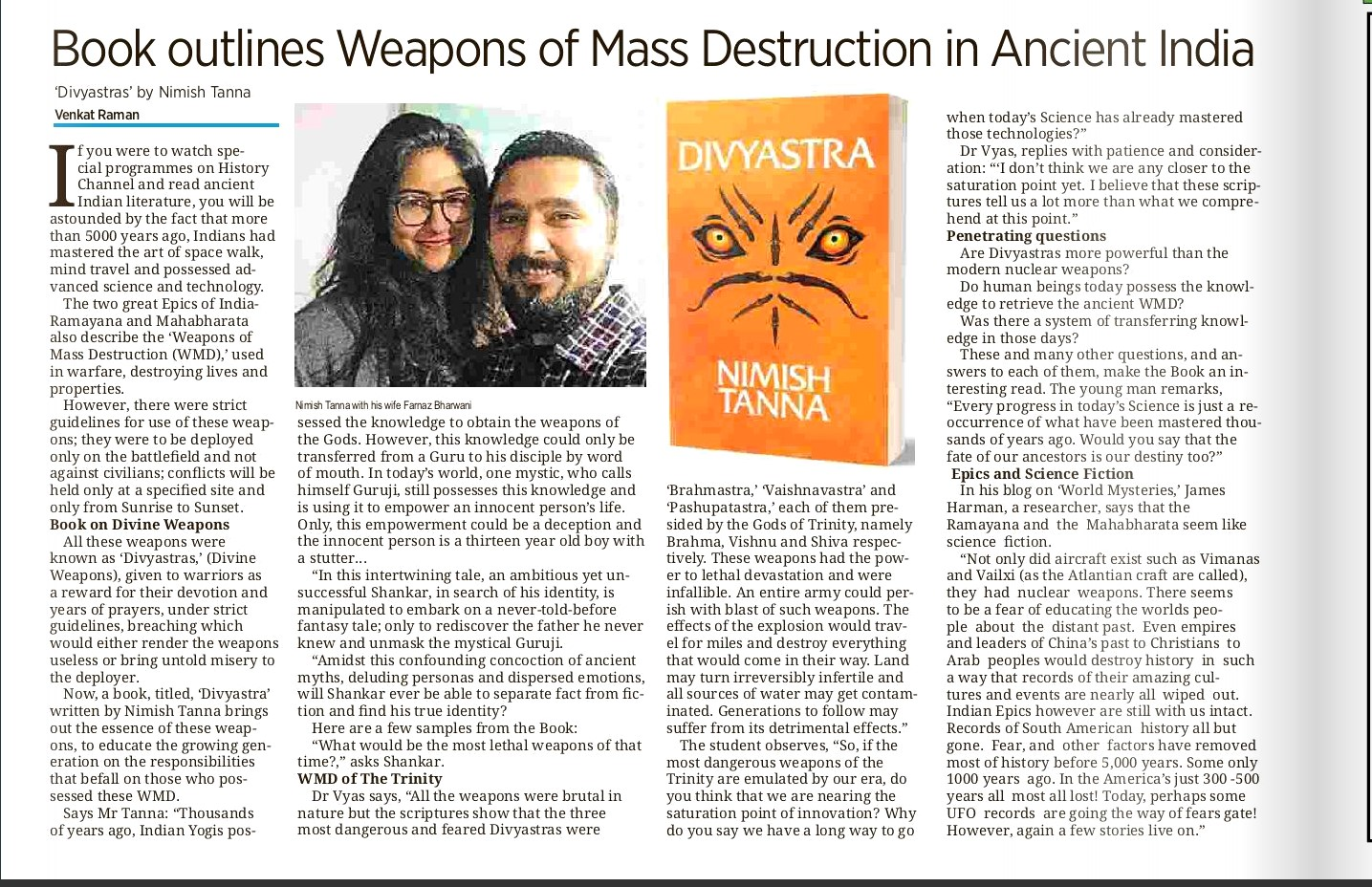 The Indian NewsLink Article_15 Feb