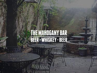 2 Margaritas at Mahogany Bar
