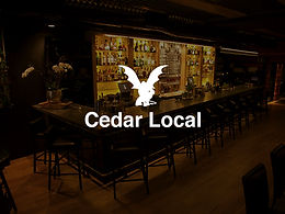 2 Cedar Whiskey Sours at Cedar Local