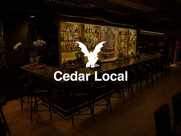 2 Cedar Whiskey Sours at Cedar Local
