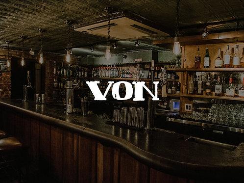 2 Mojitos at Von Bar